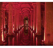Underground aquaduct Photographic Print