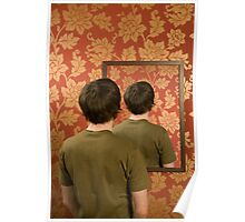 Magritte Mirror Poster