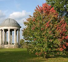 Doric Folly, Petworth House Gardens by Andrew  Marks