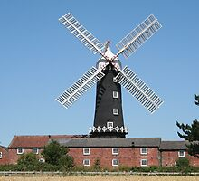 Skidby Mill, Yorkshire, England by Teuchter