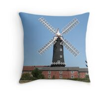 Skidby Mill, Yorkshire, England Throw Pillow