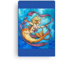 Mermaid Dancer Canvas Print
