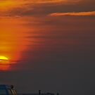 Sail on Sunset by jayant
