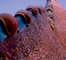 The Majestic Rooftop at Casa Batllo by SpencerCopping