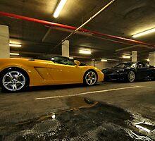 Lamborghini & Ferrari Face Off by justhypemedia