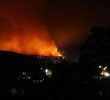 Boolarra Bushfire by Fitzard-Fotos