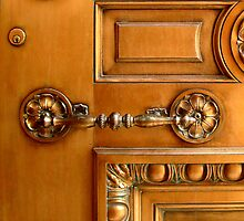 Door With Handle by Dana Roper
