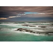 Blue Swell Photographic Print