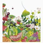 Garden of Fruit I T-Shirt by Lesley Smitheringale