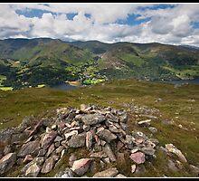 Helvellyn mountain range views by Shaun Whiteman