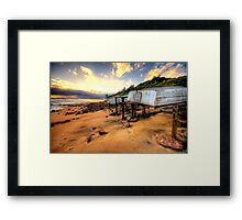 Old But Reliable - Long Reef, Sydney- The HDR Experience Framed Print