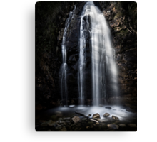 Waterfall Gully, Second Falls. Canvas Print
