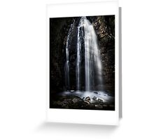 Waterfall Gully, Second Falls. Greeting Card