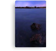 Temma Harbour before sunup. Canvas Print