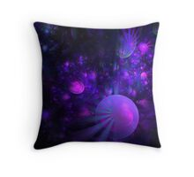 Jellyfish Fields Forever Throw Pillow