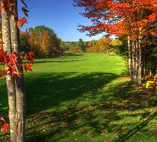 14th Hole Sussex Golf & Curling Club by Jamie Roach