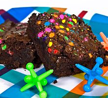 Funfetti Brownies by Maria Dryfhout