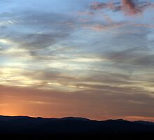 Mountain Sunset by Jim Seery