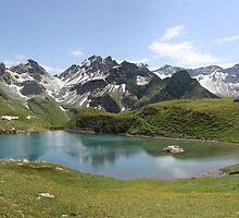 lake panorama by Cornelia Togea