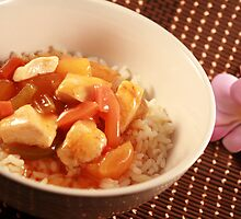Sweet and sour chicken by Hariet22