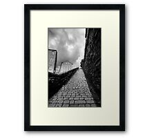 Snicket Framed Print