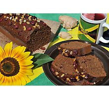 Jamaican Ginger Cake Photographic Print
