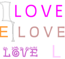 Love © Sticker