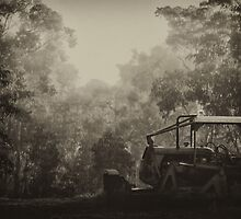"""Fiat in the Fog"" by debsphotos"