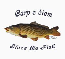 Carp e diem  Sieze the Fish by RalphMartens