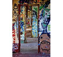 Graffiti Maze Photographic Print