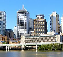 Brisbane Riverside by JuliaWright