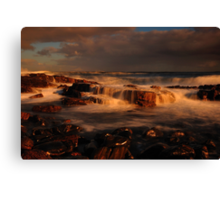 First Light at Temma Canvas Print