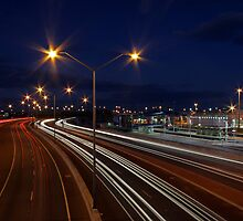 Graham Farmer Freeway Traffic  by EOS20