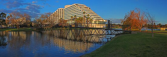 Burswood Casino At Sunset  by EOS20
