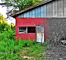 Garage by the Railroad by melly07