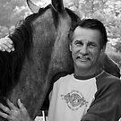 A Man and His Horse by Karen Kaleta