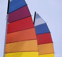 Colorful Sails by kinz4photo