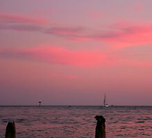 Sunset at Johns Pass by kinz4photo