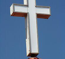 Cross and sky by kinz4photo
