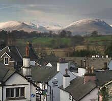 Hawkshead village by Simon Hathaway