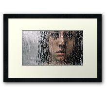 So Pretty Behind the Glass Framed Print