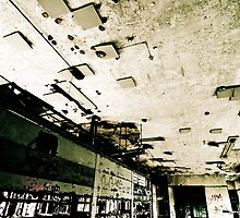 Abandoned Ceiling by Chinua Ford