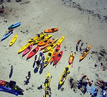 Sea Kayaks by Kevin Lajoie