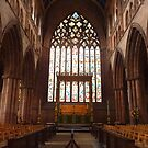 EAST WINDOW CARLISLE CATHEDRAL  by Lilian Marshall
