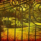 Gated Garden  by Cathy  Walker