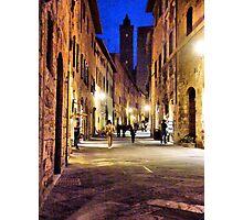 via San Giovanni Photographic Print