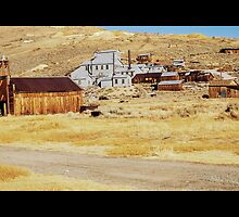 old usa western gold ghost mining town of bodie by upthebanner