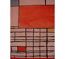 Piet Mondrian by Kaser Photographic Print