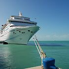 Cruise ship in Key West by julie08