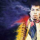 Jimi Hendrix by kenmeyerjr
